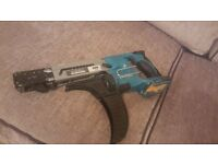 makita 18v collated screwgun (body only)