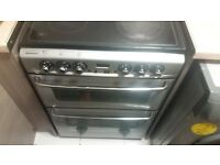 cooker, stoves. Fan oven and grill