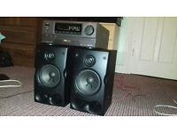 Speakers + Amplifier