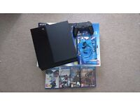 (SOLD) Sony PS4 (Playstation 4), With 4 Games and controller. Excellent Condition in original Box