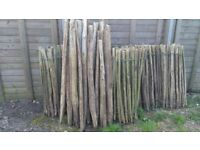Used Chestnut Fencing