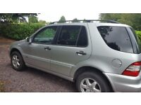 Mercedes-Benz ML350 2003 W163 Silver Auto 7 Seats Leather - Breaking For Parts