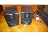 M-Audio AV40 Multi-Media Monitor Speakers Good Condition