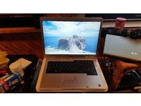 dell inspiron 6400 windows 7 2g memory 80g hard drive wifi dvd drive comes with charger