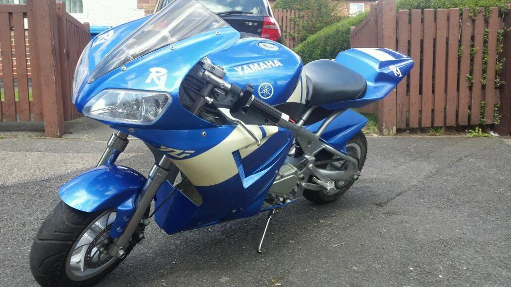 Yamaha R1 Replica Mini Moto Bike In Derby Derbyshire