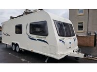 TOP OF THE RANGE BAILEY OLYMPUS 620/6, 2012/13 6 BERTH TWIN AXLE