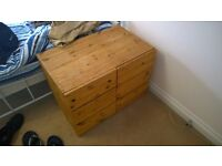 Small Wooden 6 Drawers Chest