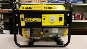 Champion 1200W Portable Generator 80cc