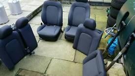 Leon mk1 2003 cloth interior (golf seat vw)