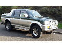 mitsubishi l200 warrior 4x4 60k miles