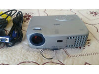 NEC LT20 Portable Projector - Very Bright Image! Lamp used only for 46 hours!