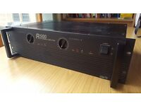 Inter-M Rackmounted R500 Amplifier 2x250w Good Condition Rack Mounted Amp