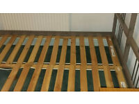 Double bed slatted bed frame Free delivery