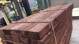 Railway sleepers / wooden sleepers