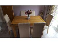 Solid Oak Kithchen Table