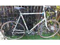 vintage racer bike Raleigh phantom 25.5 inch frame big bike