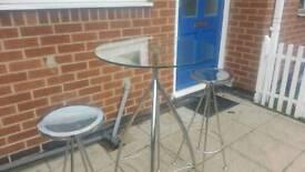 Beautiful John Lewis breakfast table and stools