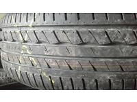 New and part worn tyre sales