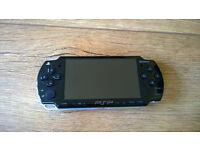 Sony Playstation Portable (PSP) 2003 - Piano black. Charger, games inc,case etc Fleet or Wokingham