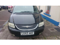 Chrysler Grand Voyager LOW MILAGES spare repair