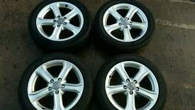 "17"" 16"" and 15"" audi alloys for sale"