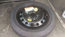 "BMW E46 Space Saver Spare Wheel 16"" T115 / 90 R16"