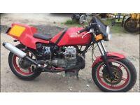 1991 Moto Guzzi 750cc, Full years MOT, new battery, starts and rides very well, located in Northflee