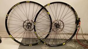 "29"" Sun Ringle Helix TR 25 32h Wheel set"