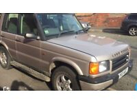 Land Rover discovery td5 2001 LOW MILES
