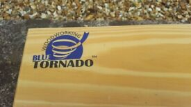 """Blue Tornado industrial carbide, quality steel router bits. 1/2"""" shank. Brand new and never sued."""