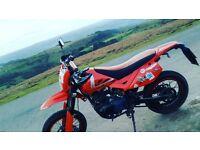 125cc motorbike pulse adrenaline sm enduro