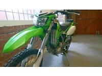 Kawasaki KLX250. 2009