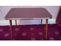 Small flat pack older style camping/BBQ/coffee table
