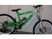 commencal supreme dh downhill bike