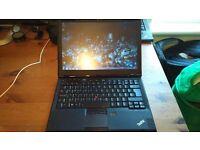 "13"" Slim and Light Lenovo ThinkPad Ultrabook Intel CPU 4GB DDR3 128GB SSD Good Battery 1.43Kg"