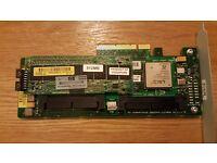 HP Smart Array P400 SAS RAID Controller 512MB cache 405831-001 ML370 ML350 G5
