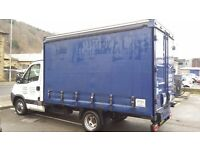 Iveco daily 35c15 curtainside van