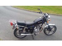 125cc motorbike suzuki gn mot 13000km good runner black cheshire