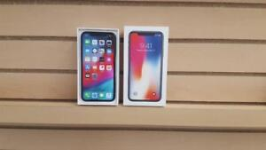 FLEX MOBILE NEW HORIZON MALL***iPhone X 64GB***UNLOCKED for all networks including international**90 Days Warranty**