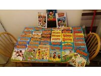 A collection of Beano Annuals