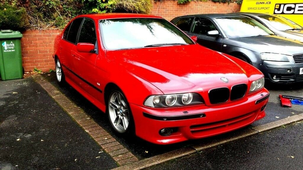 Bmw E39 Imola Red