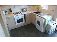 Lovely two bed house in Emersons Green, unfurnished, off road parking, garden to rear