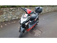 Lexmoto Echo 50 motor scooter - just under a year old, vgc, v low mileage!