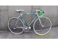 FRENCH CYCLES 2000 14 SPEED RACING BIKE LIGHTWEIGHT 21in/54cm COLUMBUS FRAME V/CLEAN JUST SERVICED