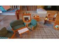 Sylvanian families living room set 2