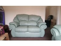Leather 3 piece suite great condition.must go asap!!!!!!