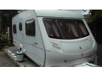 Ace Jubilee Statesman 4 berth caravan made in 2002 and comes with full Esprit awning