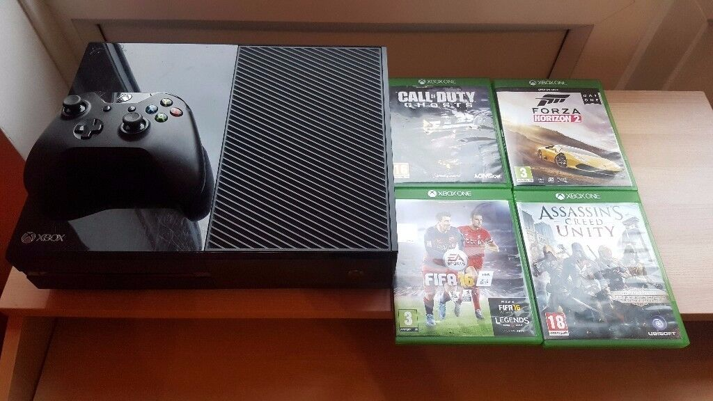PERFECT Xbox One with games (FIFA 16, FORZA..) *MORE GAMES AVAILABLE*