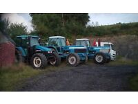 Needed tractors diggers plant working or not damaged etc
