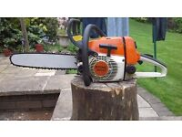 Stihl ms 240 profesional chainsaw in very good condition